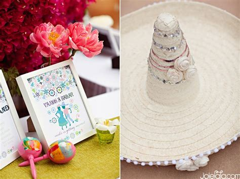 Mexican Themed Bridal Shower by Mexican Bridal Shower White Sombrero South Of The Border