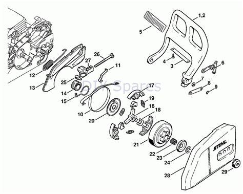 stihl 066 parts diagram engine diagram for 025 stihl chainsaw stihl 018 chainsaw