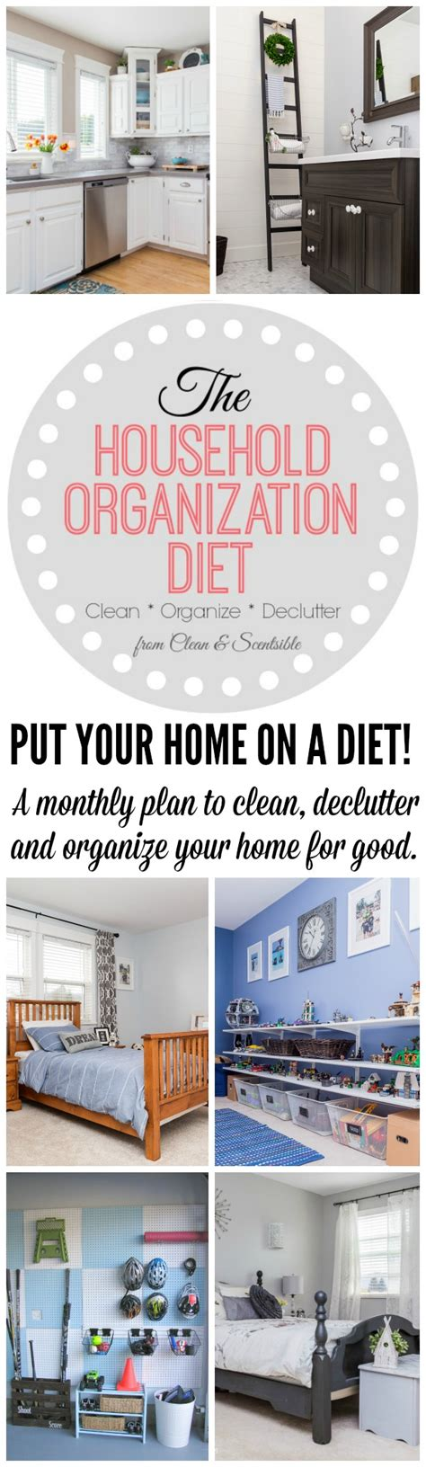 31 Day Detox Diet by The 31 Day Household Detox 2016 Clean And Scentsible