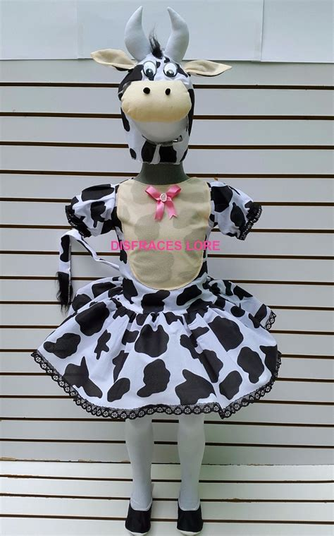 disfraz de vaca reciclable disfraz de vaca tutu mallas vaquita disfraces vaca ni 241 as