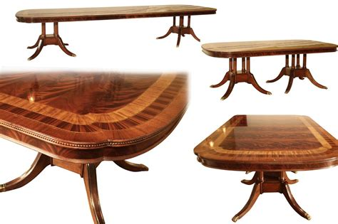 Extra Large Formal Mahogany Dining Table For Traditional Dining Table Traditional