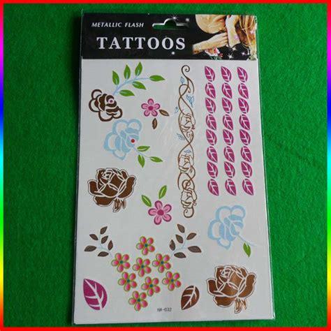 sale custom body prints temporary promotion custom temporary tattoos for water transfer