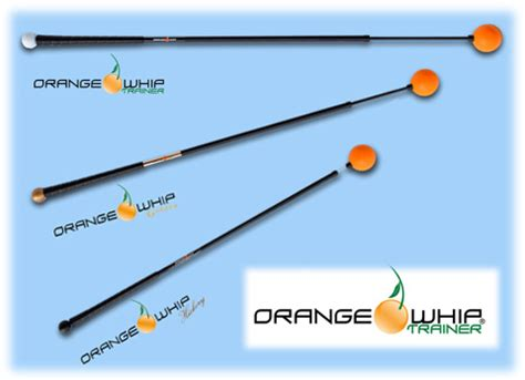 orange ball swing trainer training aids jim peters golf lessons