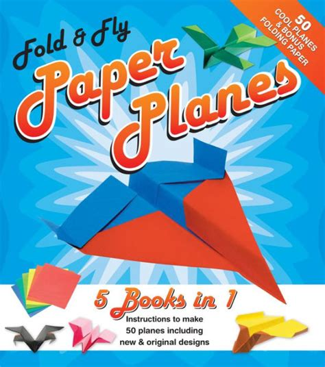 Fold And Fly Paper Planes Book - fold and fly paper planes by dean mackey hardcover