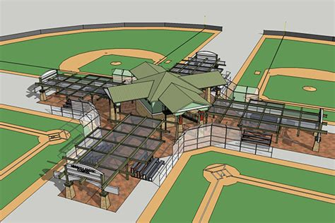 field layout engineer minneola athletic complex design by cpwg engineering
