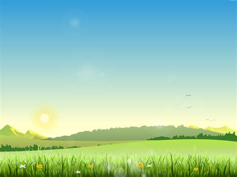 Landscape Illustration Summer Landscape Illustration Psdgraphics