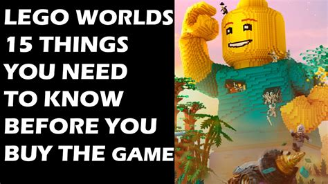 7 Things I Need To Throw Out Of My Wardrobe by Lego Worlds 15 Things You Need To Before You Buy