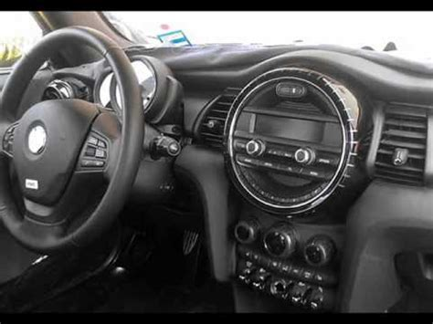 first look 2014 mini cooper s interior and exterior