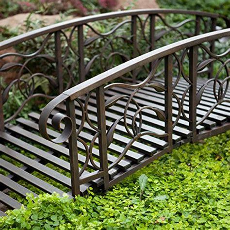 willow creek garden bridge metal 6 ft metal garden bridge willow creek lawn furniture home