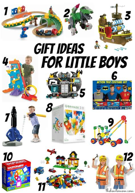 the how to mom christmas gift ideas for little boys ages