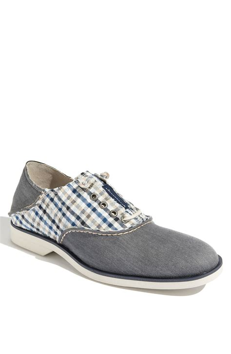 oxford saddle shoes sperry top sider boat oxford saddle shoe in blue for