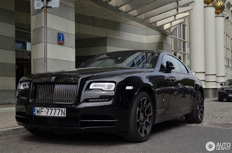rolls royce black badge rolls royce wraith black badge 25 juin 2017 autogespot