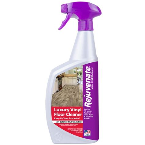 rejuvenate 32 oz luxury vinyl floor cleaner rj32lvfc