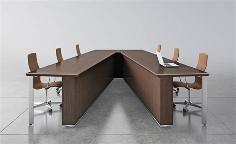 V Shaped Conference Table Conference
