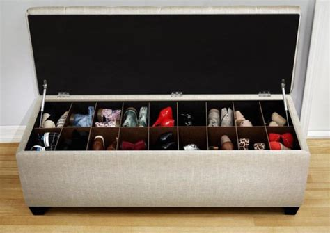shoe store benches 20 diy shoe storage solutions home design and interior