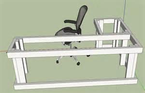 Building Al Shaped Desk L Shaped Desk Plans Diy 171 Macho10zst