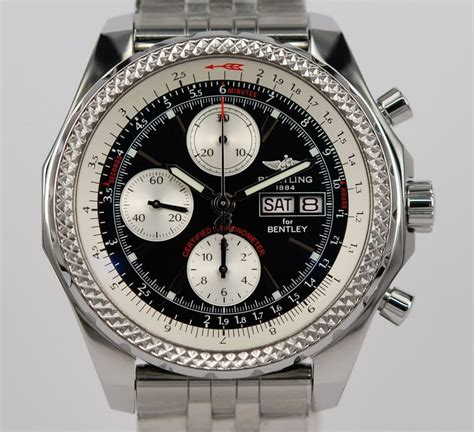 bentley breitling new breitling for bentley gt black dial