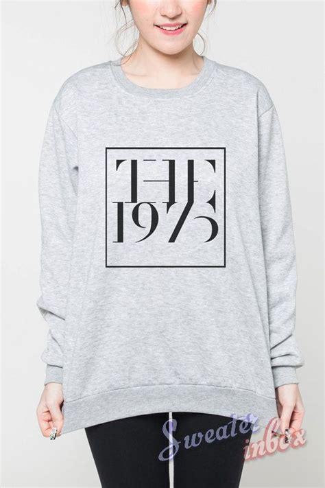Sweater Rock Band Radio the 1975 shirt sweater rock shirts grey sweatshirt t shirt unisex jumper size s m l