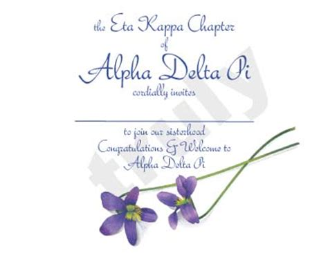bid day card sorority template maker truly new sorority bid day card designs