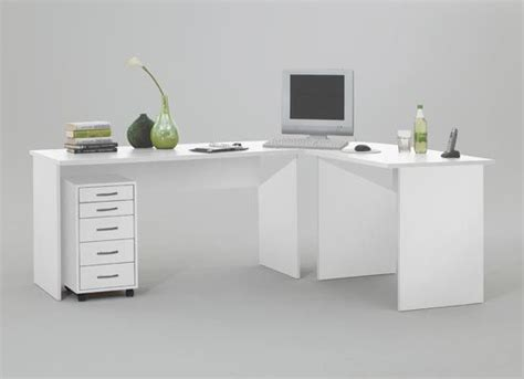 Large White Corner Desk Modern Corner Computer Desk Table White Till Furniture In Fashion Reception