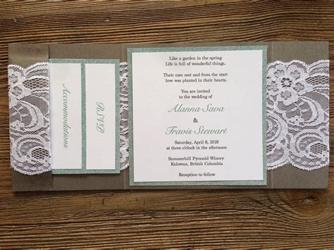 Wedding Invitation Design Company by Rustic Elegance Wedding Invitation Infinity Design Company