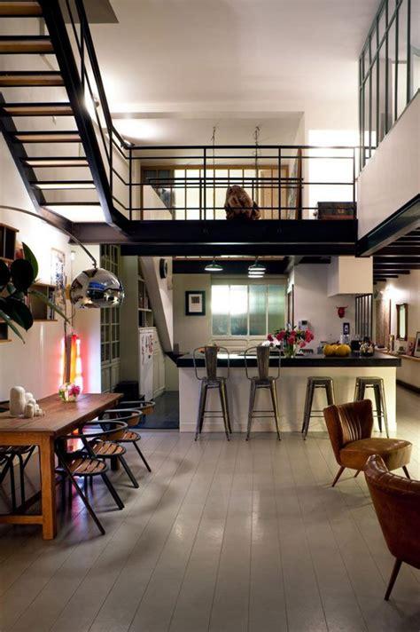 home design loft style le garde corps mezzanine jolies id 233 es pour lofts avec