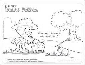imagenes para colorear benito juarez fichas para preescolar benito ju 225 rez una ficha para celebrar