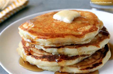 Handmade Pancakes - fluffy pancakes recipe