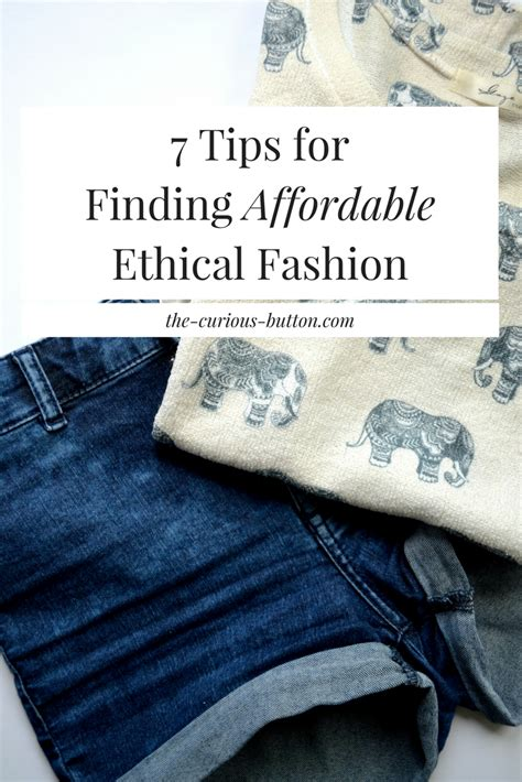 7 Tips On Being Stylish by 7 Tips For Finding Affordable Ethical Fashion The