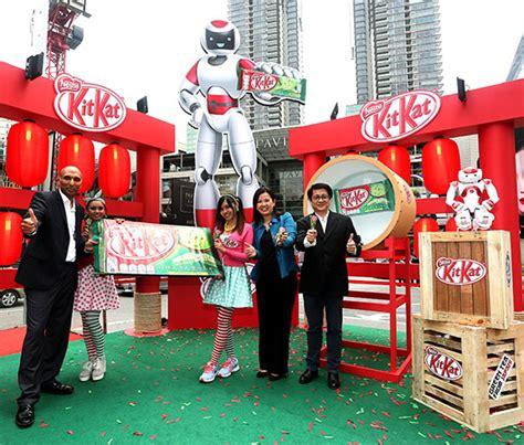 Kitkat Green Tea Malaysia a japanese with nestl 233 malaysia s all new kit