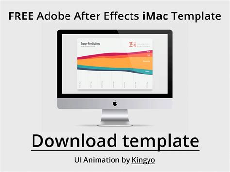 templates for pages imac free imac after effects template by issara willenskomer