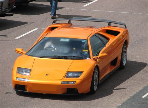 lamborghini diablo orange and concept cars lamborghini diablo