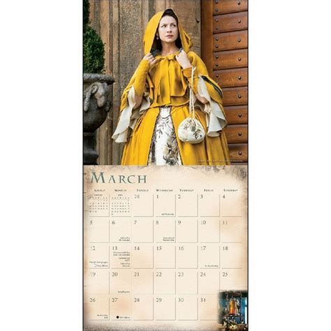 cal 2017 dragon witches the 1416242716 2017 outlander wall calendar tv shows movies fairyglen com