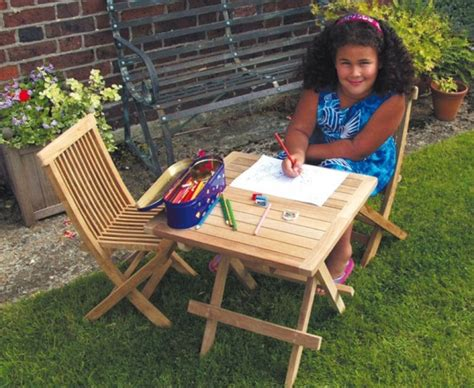 childrens outdoor table and chairs children s wooden table chairs outdoor patio