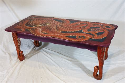 octopus coffee table by justthefish62 on deviantart