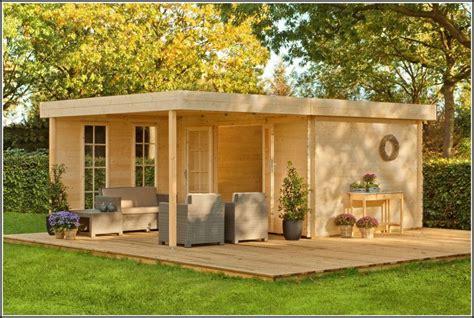 Gartenhaus Holz Bauen by Gartenhaus Holz Flachdach Selber Bauen Denvirdev Info
