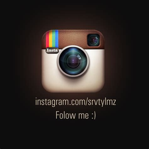 follow me on instagram sugarbunny07 via image instagram follow me by servetinci on deviantart