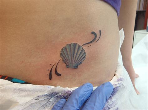 seashell tattoos not found
