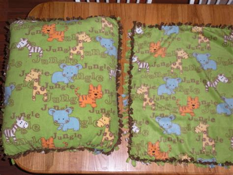 No Sew Floor Pillow For Baby by No Sew Blanket And Floor Pillow I Just Made Babycenter
