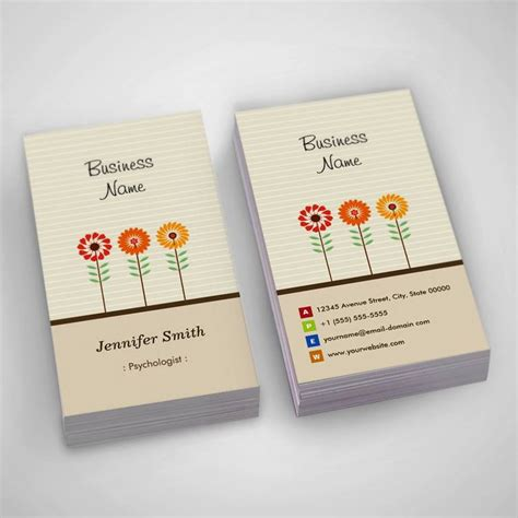 psychologist business card templates free 300 creative and inspiring business card designs page2