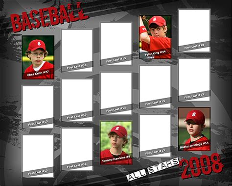 sports templates for photoshop elements sports team poster vol 3 template photoshop elements