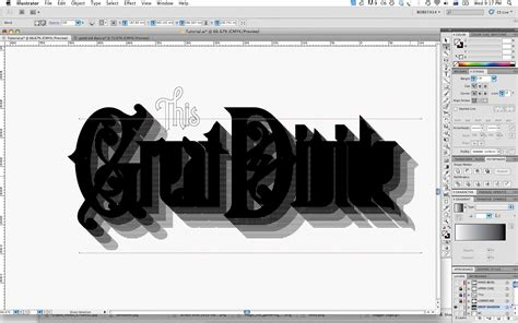 tutorial photoshop illustrator adobe illustrator tutorial create vintage type styles