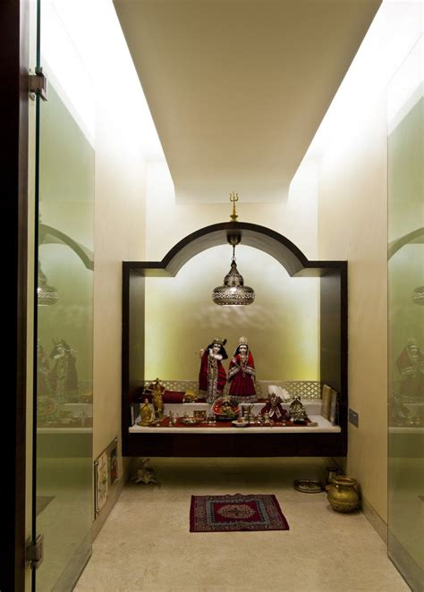 Home Temple Design Interior Pooja Room Design By Architect Rajesh Patel Consultants Pvt Ltd Architect In Mumbai