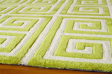 green patterned rug district17 apple green key bliss rug patterned rugs