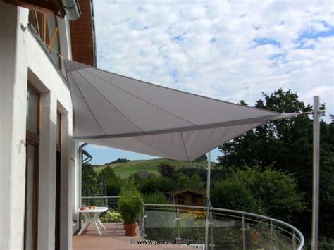 sonnensegel pina design sonnensegel f 252 r den balkon in premium qualit 228 t pina design 174
