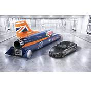Jaguar F Type R AWD Joins Bloodhound SSC For Record Attempt  Evo