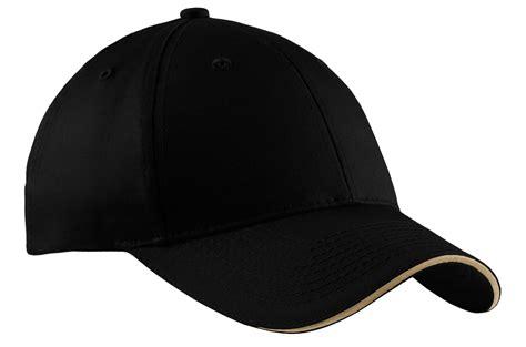 port company baseball cap cp85 mens sandwich bill cap new