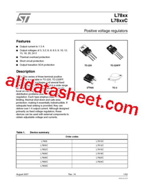 transistor e13007 datasheet pdf l7812cv datasheet pdf stmicroelectronics