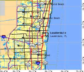 map of fort lauderdale florida area fort lauderdale florida fl profile population maps