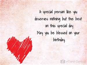 birthday card special person a special person like you ecard birthday ecards